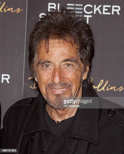 Actor Al Pacino attends the 'Danny Collins' New York premiere at AMC Lincoln Square Theater on March 18 2015 in New York City