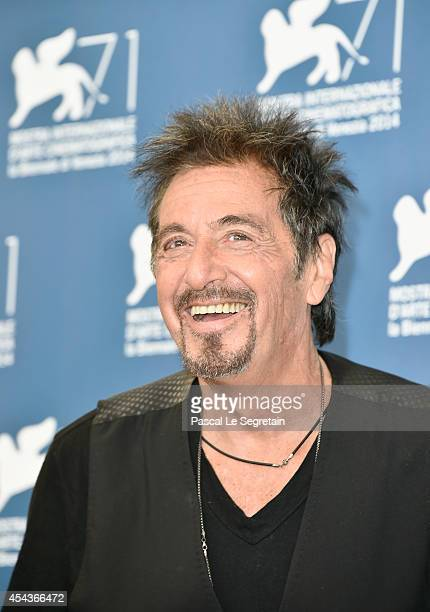 Actor Al Pacino attends 'The Humbling' photocall during the 71st Venice Film Festival on August 30 2014 in Venice Italy
