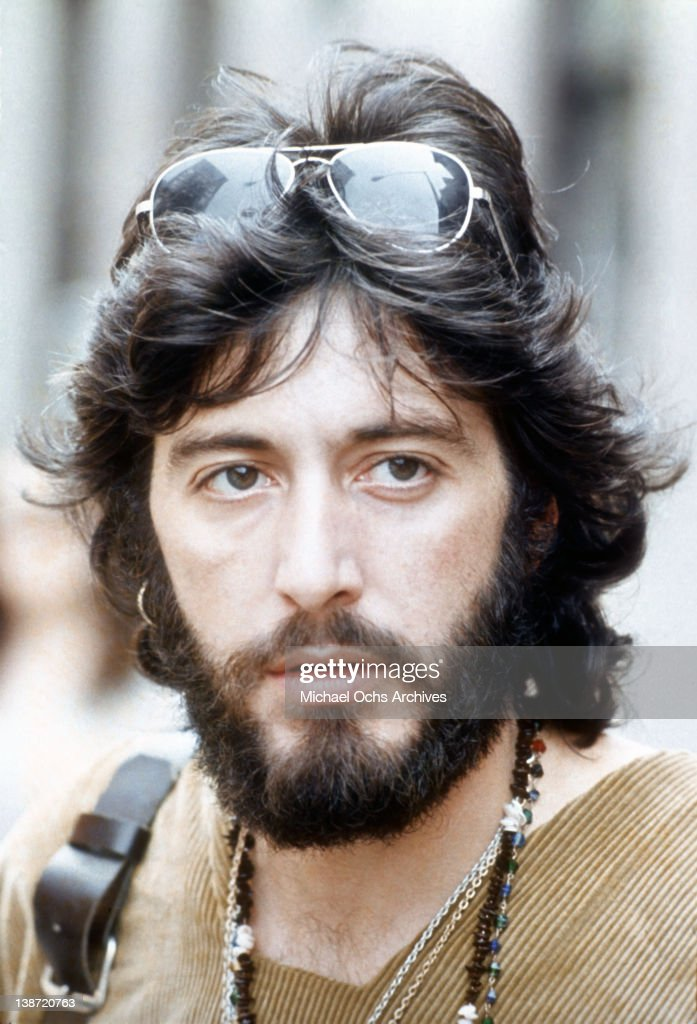 Actor Al Pacino in a scene from the Paramount Pictures movie 'Serpico' in 1973 in New York City New York