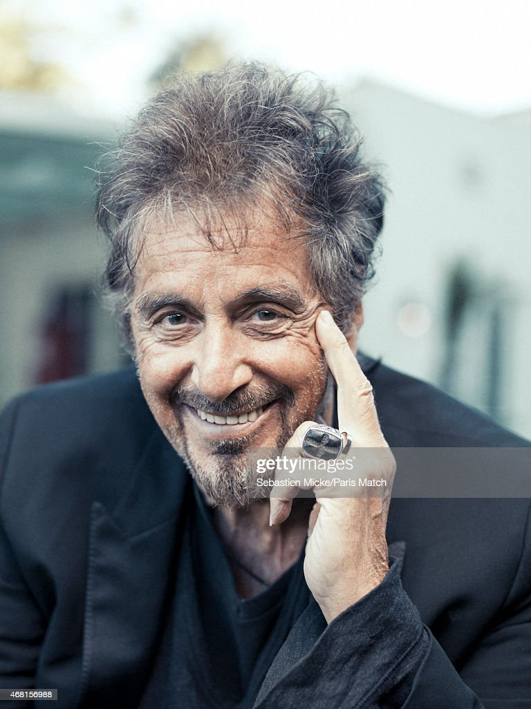 al pacino paris match issue 3436 april 1 2015 getty. Black Bedroom Furniture Sets. Home Design Ideas
