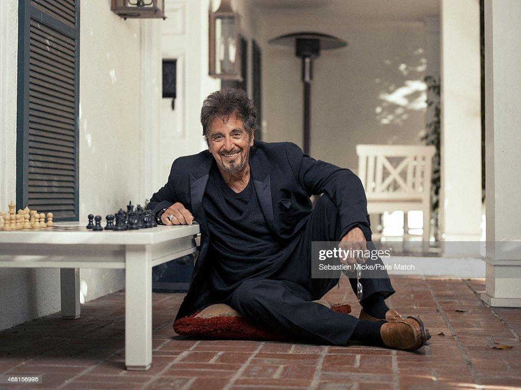 Al Pacino, Paris Match Issue 3436, April 1, 2015   Getty Images Al Pacino