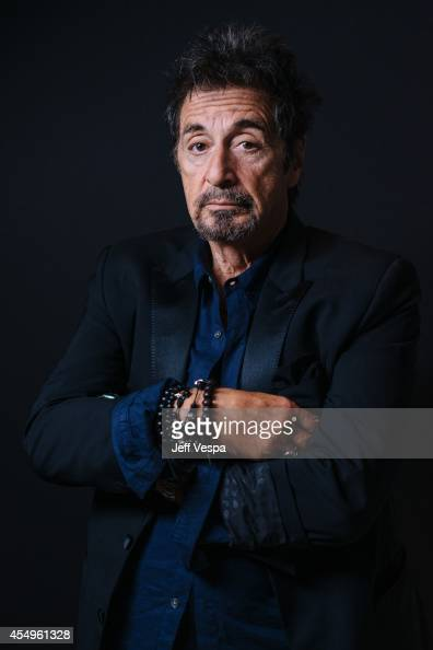 Actor Al Pacino is photographed for a Portrait Session at the 2014 Toronto Film Festival on September 7 2014 in Toronto Ontario