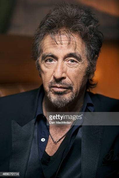 Actor Al Pacino is photographed for USA Today on March 1 2015 in Beverly Hills California