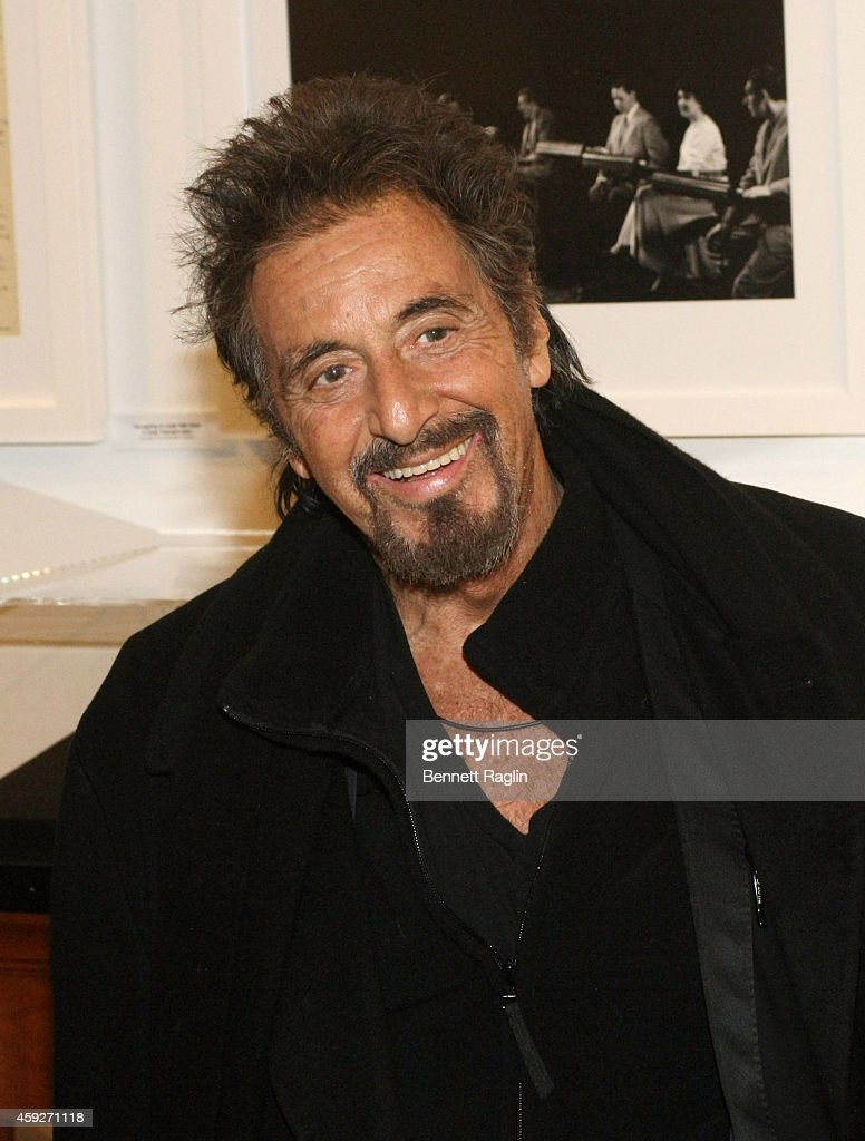 Actor Al Pacino poses for a picture during 92nd Street Y Presents: An ... Al Pacino