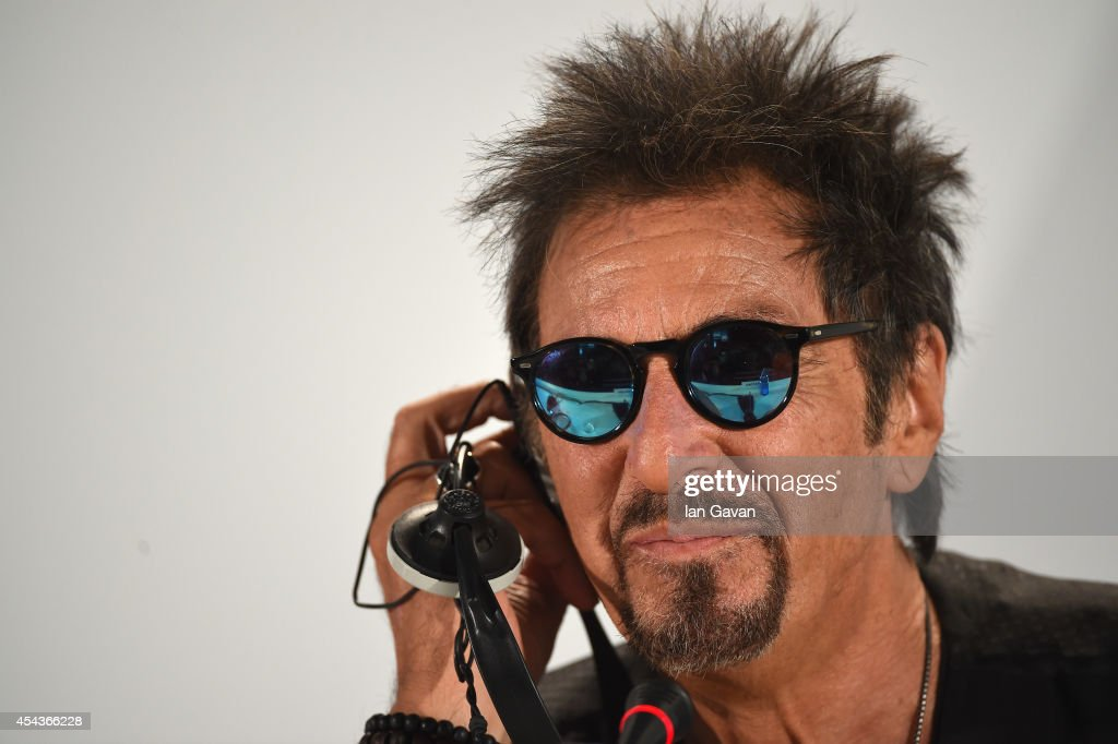 Actor <a gi-track='captionPersonalityLinkClicked' href=/galleries/search?phrase=Al+Pacino&family=editorial&specificpeople=202658 ng-click='$event.stopPropagation()'>Al Pacino</a> wearing a Jaeger-LeCoultre Deep Sea Vintage watch attends the 'The Humbling' press conference before the photocall during the 71st Venice Film Festival at the Palazzo del Casino on August 30, 2014 in Venice, Italy.