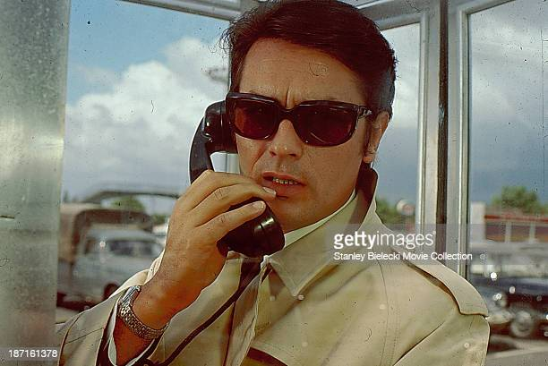 Actor Alain Delon in a scene from the movie 'The Sicilian Clan' 1969