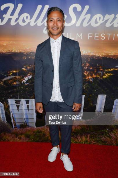 Actor Alain Uy attends the Primetime Short Films series during the 2017 HollyShorts Film Festival at TCL Chinese 6 Theatres on August 12 2017 in...