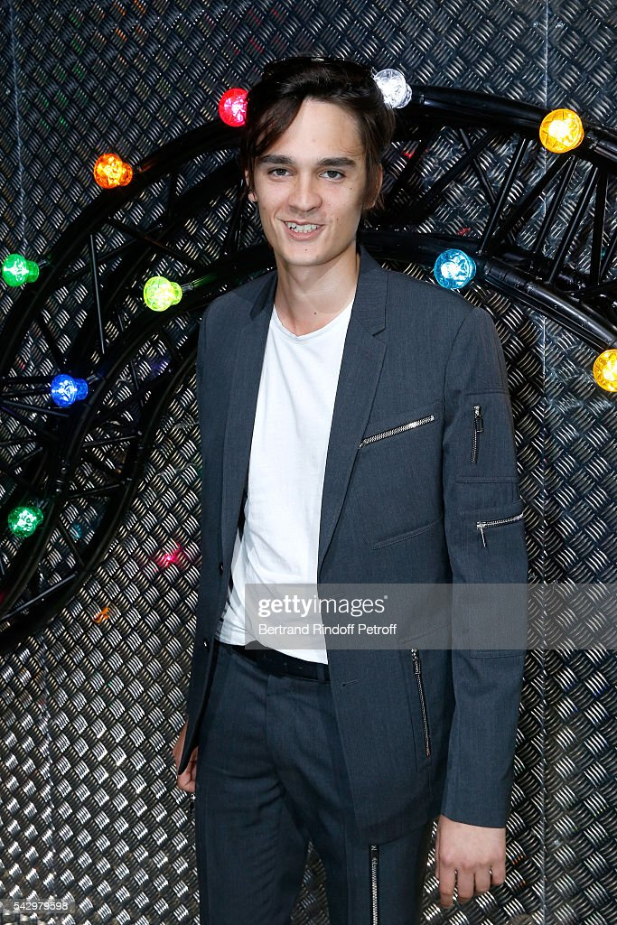 Actor Alain-Fabien Delon attends the Dior Homme Menswear Spring/Summer 2017 show as part of Paris Fashion Week on June 25, 2016 in Paris, France.