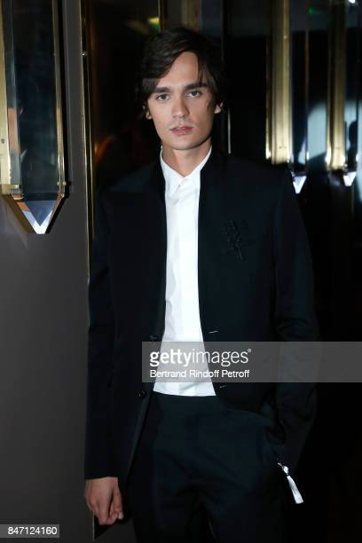 Actor AlainFabien Delon attends the Reopening of the Barriere Hotel 'The Fouquet's' decorated by Jacques Garcia at Hotel Barriere Le Fouquet's Paris...