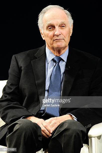 Actor Alan Alda attends Iconic Characters Of Comedy Series 'MASH' at Museum of Moving Image on October 15 2013 in New York City