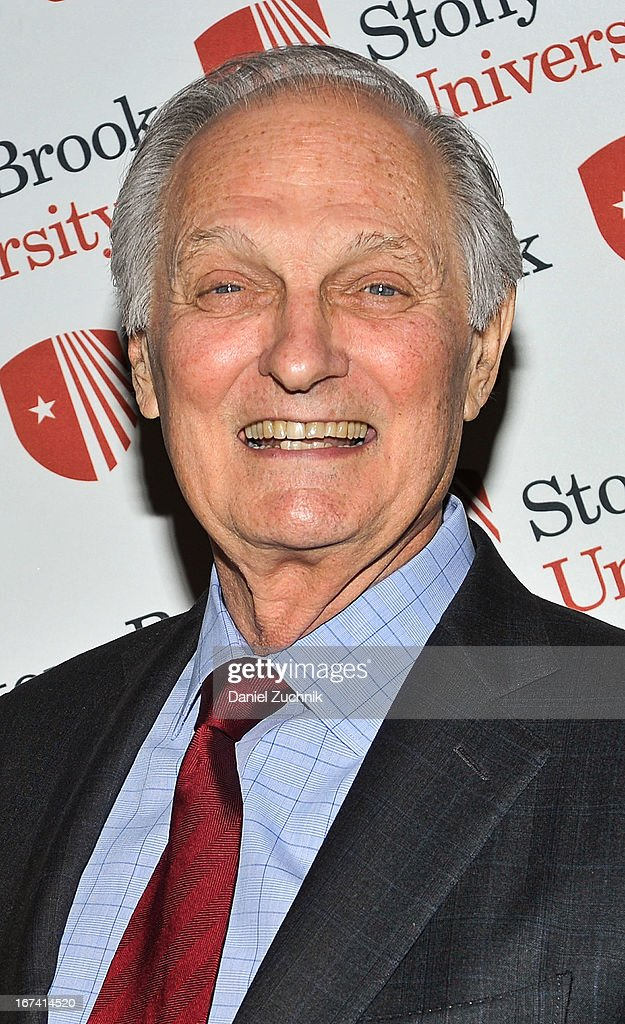 Actor Alan Alda attends the 2013 Stars Of Stony Brook Gala at Pier 60 on April 24, 2013 in New York City.