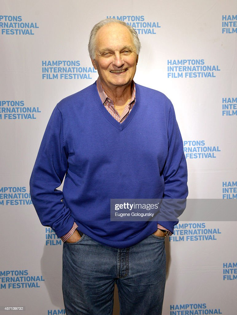 Actor Alan Alda attends the 2014 Hamptons International Film Festival on October 12 2014 in East Hampton New York