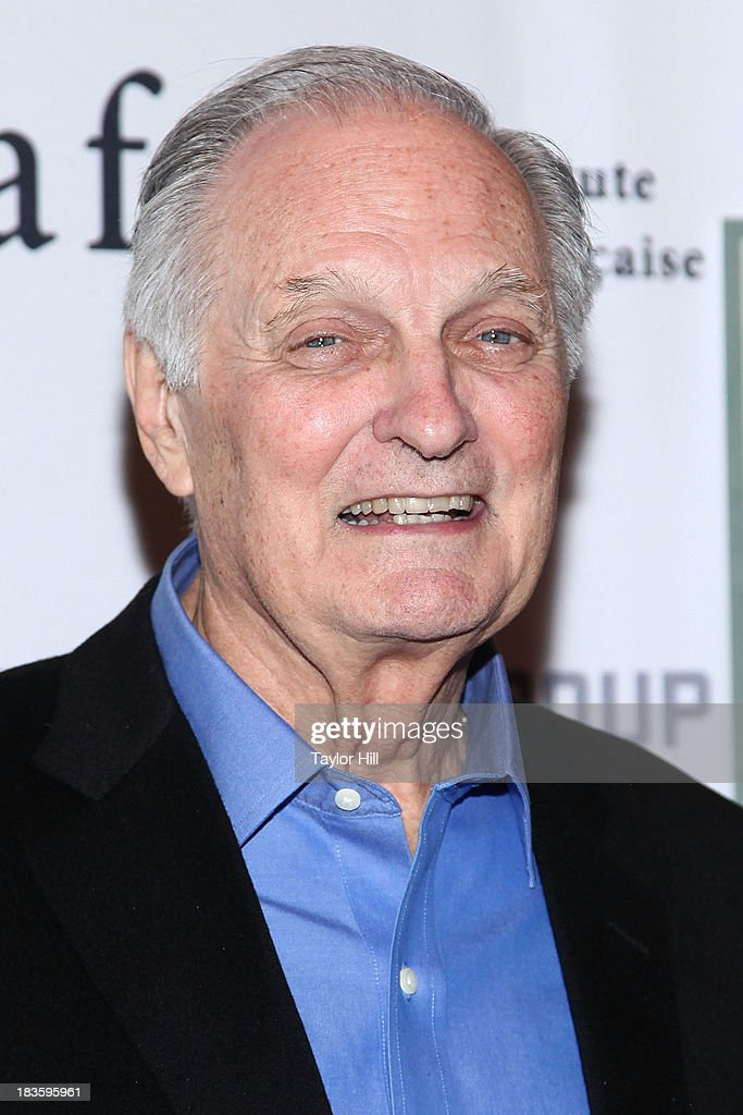 Actor Alan Alda attends the 'Capital' screening at FIAF on October 7 2013 in New York City