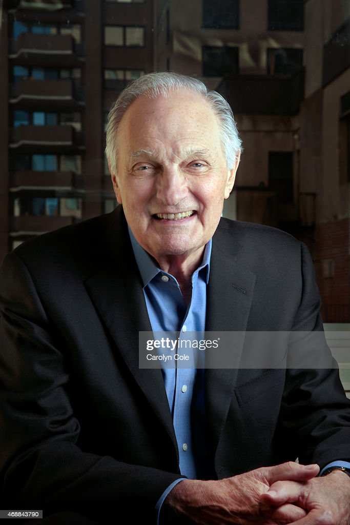 Actor <a gi-track='captionPersonalityLinkClicked' href=/galleries/search?phrase=Alan+Alda&family=editorial&specificpeople=206416 ng-click='$event.stopPropagation()'>Alan Alda</a> is photographed for Los Angeles Times on March 29, 2015 in New York City. PUBLISHED IMAGE.