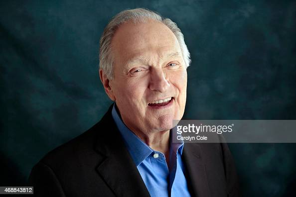 Actor Alan Alda is photographed for Los Angeles Times on March 29 2015 in New York City PUBLISHED IMAGE CREDIT MUST BE Carolyn Cole/Los Angeles...