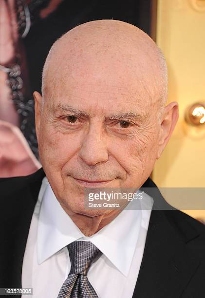 Actor Alan Arkin attends 'The Incredible Burt Wonderstone' Los Angeles Premiere at TCL Chinese Theatre on March 11 2013 in Hollywood California
