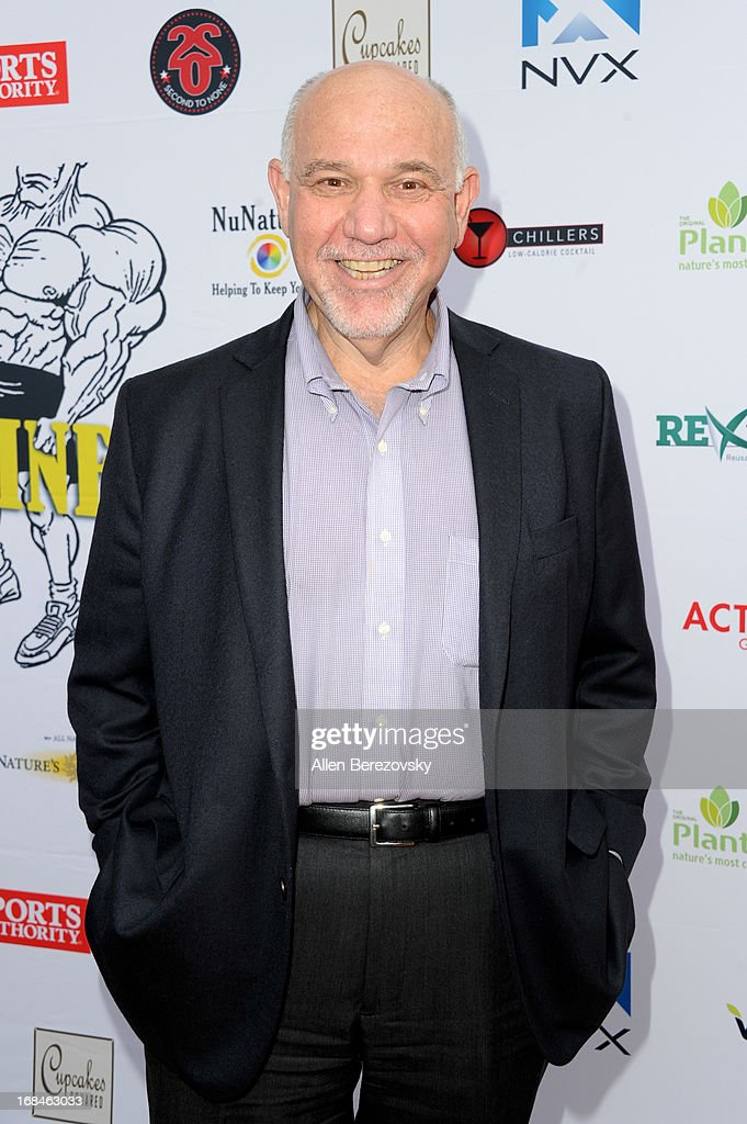 Actor Alan Blumenfeld arrives at the Los Angeles premiere of a new comedy series 'Trainers' at Fox Studio Lot on May 9, 2013 in Century City, California.