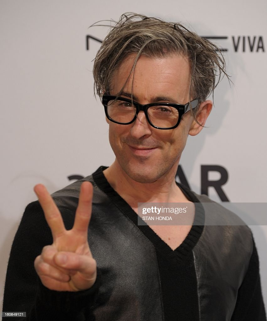 Actor Alan Cumming arrives at the amfAR (The Foundation for AIDS Research) gala that kicks off the Mercedes-Benz Fashion Week February 6, 2013 in New York. AFP PHOTO/Stan HONDA