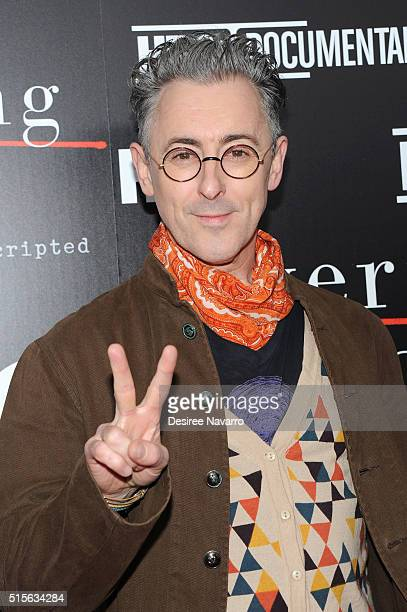 Actor Alan Cumming attends 'Everything Is Copy Nora Ephron Scripted Unscripted' New York special screening at The Museum of Modern Art on March 14...