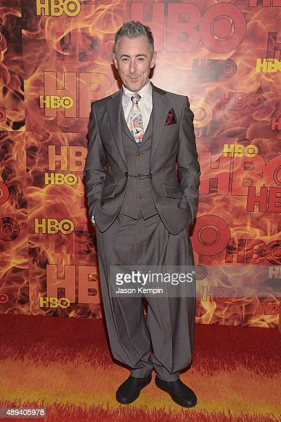 Actor Alan Cumming attends HBO's Official 2015 Emmy After Party at The Plaza at the Pacific Design Center on September 20 2015 in Los Angeles...