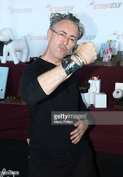 Actor Alan Cumming attends PILOT PEN GBK's PreEmmy Luxury Lounge Day 2 at L'Ermitage Beverly Hills Hotel on September 17 2016 in Beverly Hills...