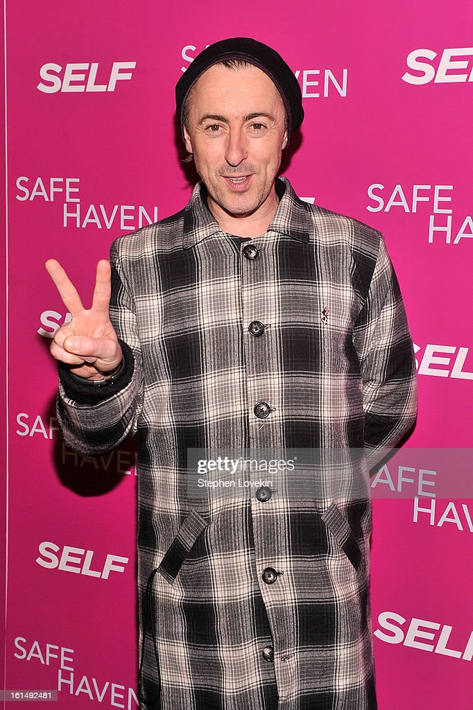 Actor <a gi-track='captionPersonalityLinkClicked' href=/galleries/search?phrase=Alan+Cumming&family=editorial&specificpeople=202521 ng-click='$event.stopPropagation()'>Alan Cumming</a> attends SELF Magazine And Relativity Media's Special New York Screening Of 'Safe Haven' at Landmark Theatres Sunshine Cinema on February 11, 2013 in New York City.