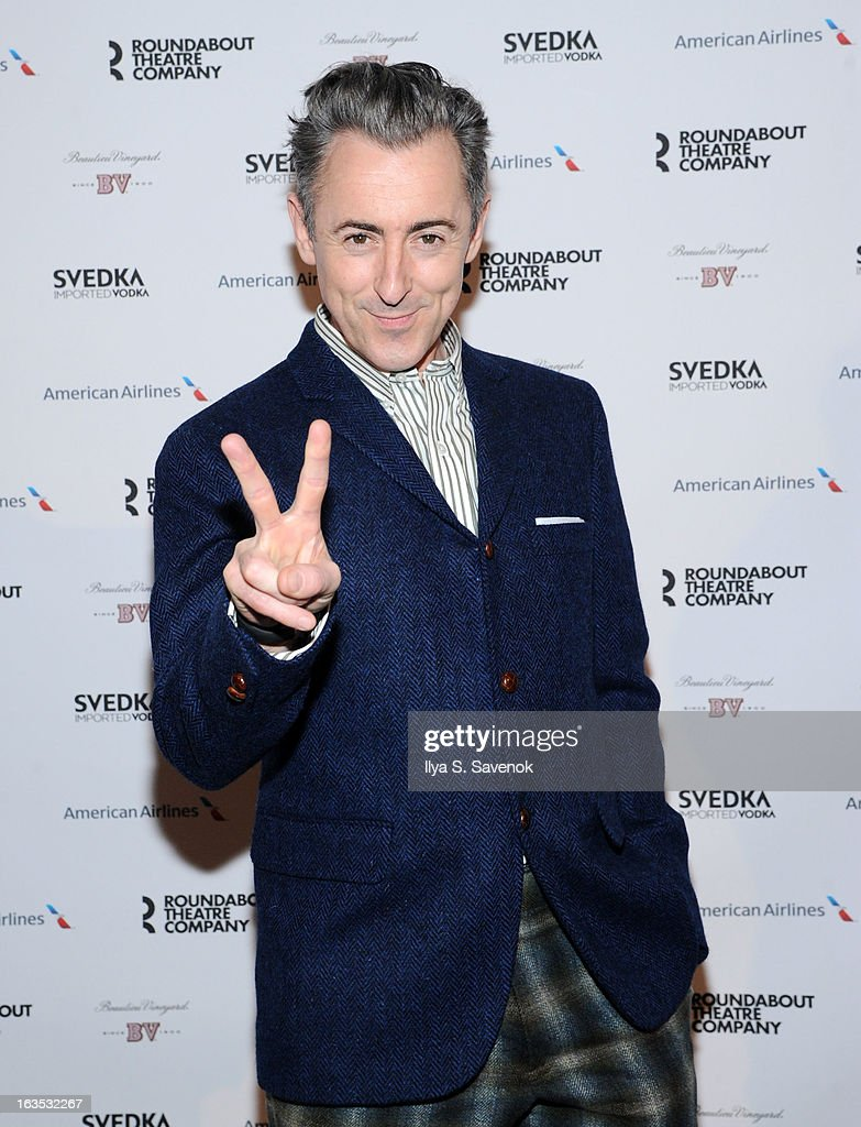 Actor Alan Cumming attends the 2013 Roundabout Theatre Company Spring Gala at Hammerstein Ballroom on March 11, 2013 in New York City.