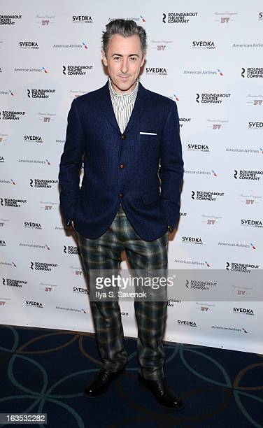 Actor Alan Cumming attends the 2013 Roundabout Theatre Company Spring Gala at Hammerstein Ballroom on March 11 2013 in New York City