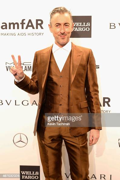 Actor Alan Cumming attends the 2014 amfAR New York Gala at Cipriani Wall Street on February 5 2014 in New York City