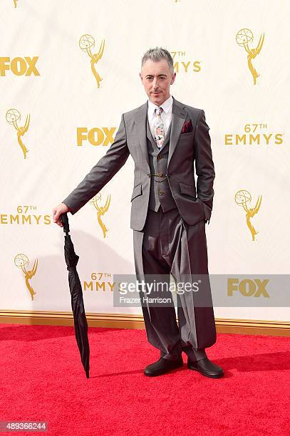 Actor Alan Cumming attends the 67th Annual Primetime Emmy Awards at Microsoft Theater on September 20 2015 in Los Angeles California
