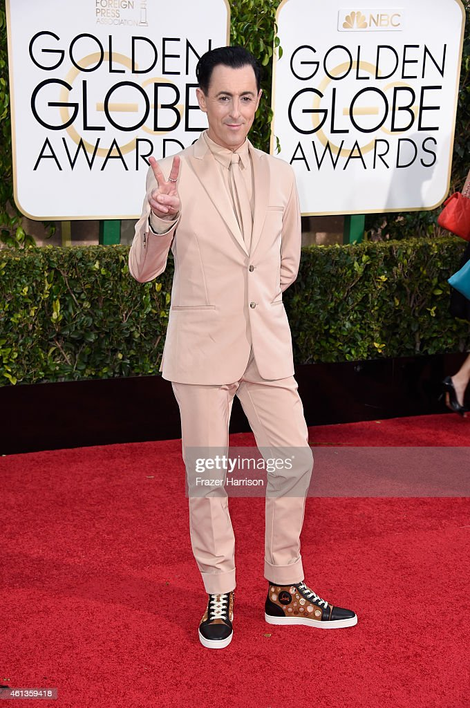 Actor <a gi-track='captionPersonalityLinkClicked' href=/galleries/search?phrase=Alan+Cumming&family=editorial&specificpeople=202521 ng-click='$event.stopPropagation()'>Alan Cumming</a> attends the 72nd Annual Golden Globe Awards at The Beverly Hilton Hotel on January 11, 2015 in Beverly Hills, California.