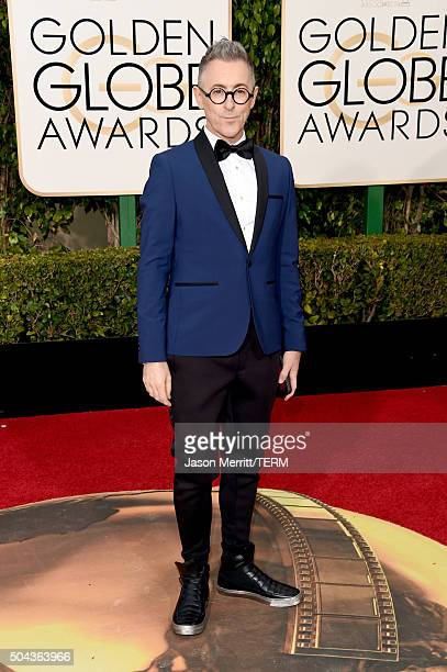 Actor Alan Cumming attends the 73rd Annual Golden Globe Awards held at the Beverly Hilton Hotel on January 10 2016 in Beverly Hills California