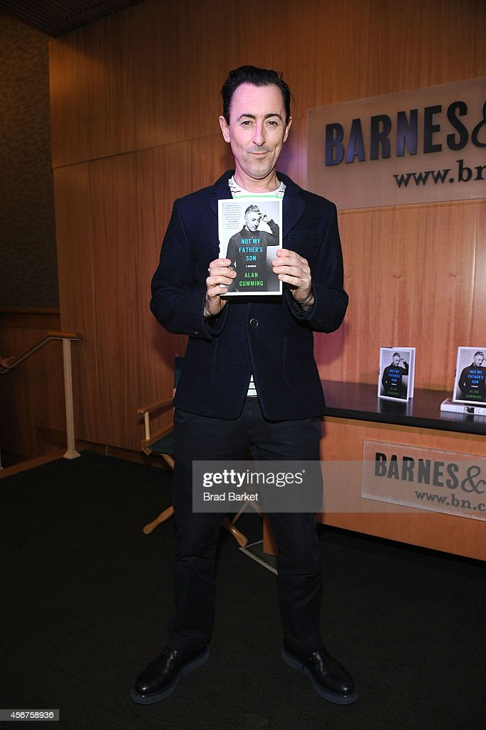 """Alan Cumming Book Launch for """"Not My Father's Son"""""""