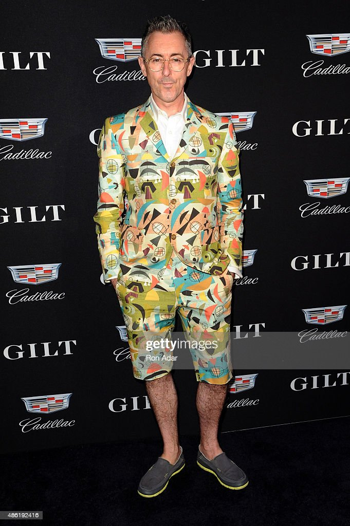 Actor <a gi-track='captionPersonalityLinkClicked' href=/galleries/search?phrase=Alan+Cumming&family=editorial&specificpeople=202521 ng-click='$event.stopPropagation()'>Alan Cumming</a> attends the Cadillac Capsule Clothing Collection Launch at Classic Car Club on September 1, 2015 in New York City.
