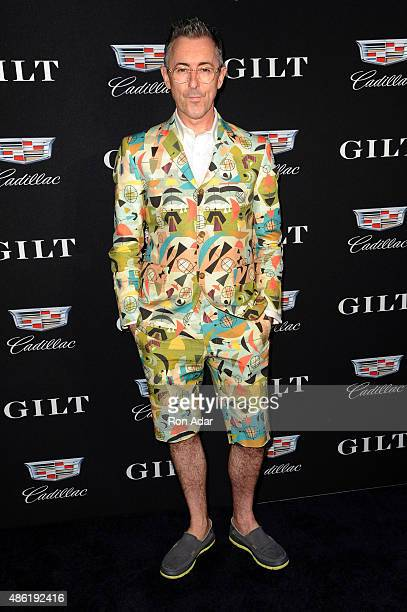Actor Alan Cumming attends the Cadillac Capsule Clothing Collection Launch at Classic Car Club on September 1 2015 in New York City
