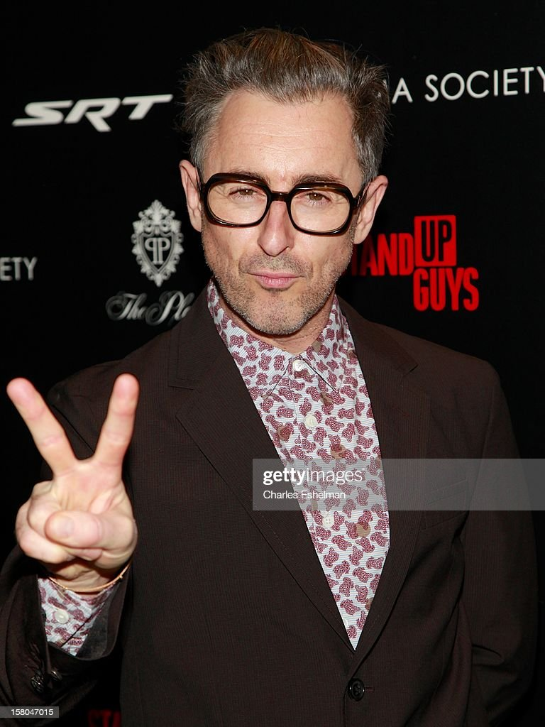 Actor Alan Cumming attends The Cinema Society With Chrysler & Bally Host The Premiere Of 'Stand Up Guys' at The Museum of Modern Art on December 9, 2012 in New York City.