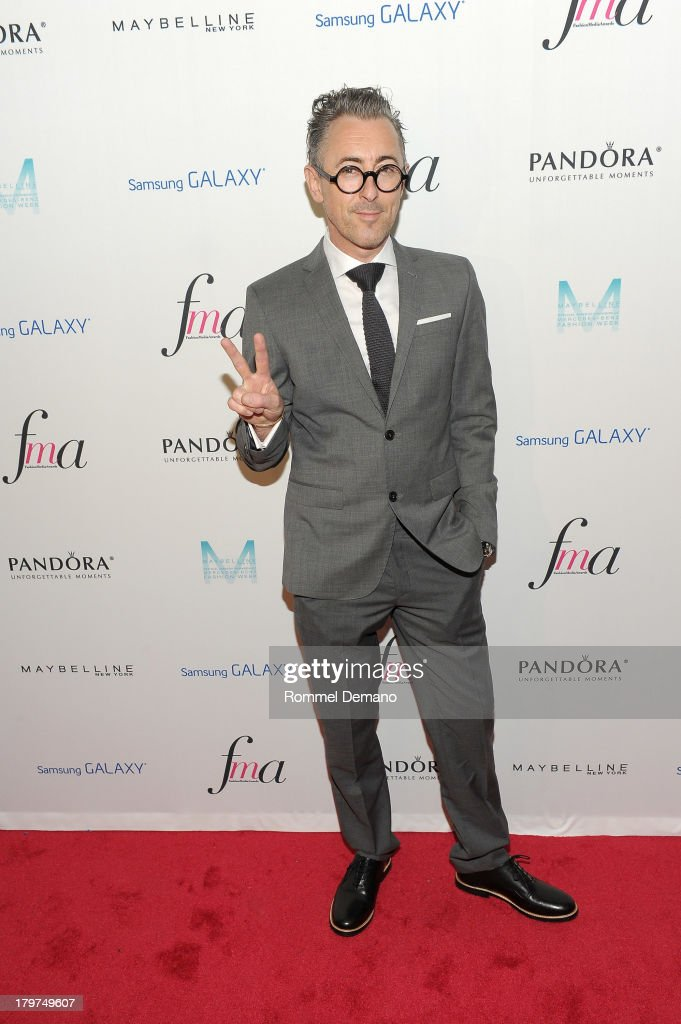 Actor Alan Cumming attends The Daily Front Row's Fashion Media Awards at Harlow on September 6, 2013 in New York City.