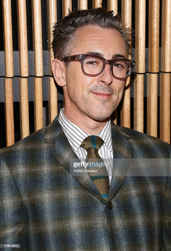 Actor <a gi-track='captionPersonalityLinkClicked' href=/galleries/search?phrase=Alan+Cumming&family=editorial&specificpeople=202521 ng-click='$event.stopPropagation()'>Alan Cumming</a> attends the David Hart fashion show during Mercedes-Benz Fashion Week Spring 2014 at the DiMenna Center on September 5, 2013 in New York City.