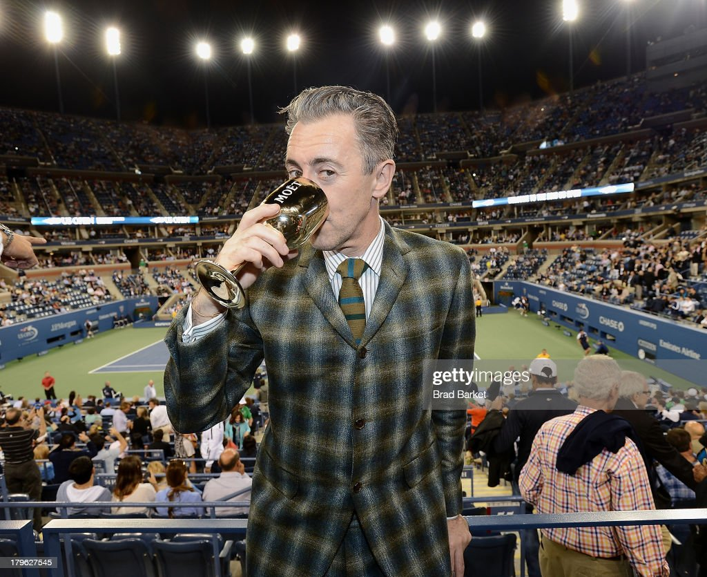 Actor Alan Cumming attends The Moet & Chandon Suite at USTA Billie Jean King National Tennis Center on September 5, 2013 in New York City.