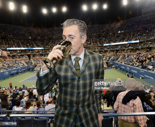 Actor Alan Cumming attends The Moet Chandon Suite at USTA Billie Jean King National Tennis Center on September 5 2013 in New York City