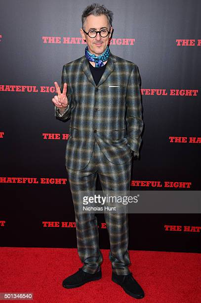 Actor Alan Cumming attends the New York premiere of 'The Hateful Eight' on December 14 2015 in New York City