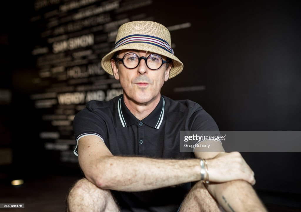 Actor Alan Cumming hosts a news conference with PETA exposing the fate of discarded chimpanzees at PETA on June 23, 2017 in Los Angeles, California.
