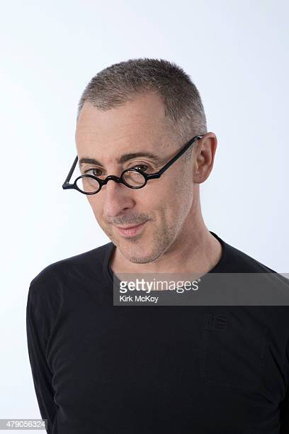 Actor Alan Cumming is photographed for Los Angeles Times on April 24 2015 in Los Angeles CaliforniaPUBLISHED IMAGE CREDIT MUST BE Kirk McKoy/Los...