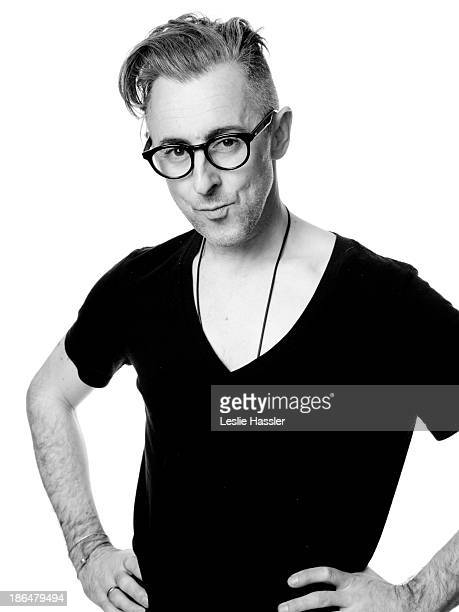 Actor Alan Cumming is photographed for Self Assignment on April 26 2012 in New York City