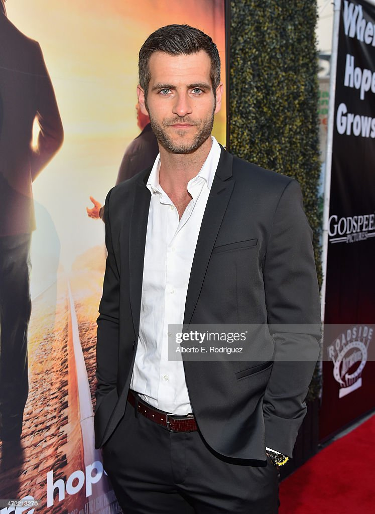 Actor Alan Powell attends the premiere of Roadside Attractions' & Godspeed Pictures' 'Where Hope Grows' at The ArcLight Cinemas on May 4, 2015 in Hollywood, California.