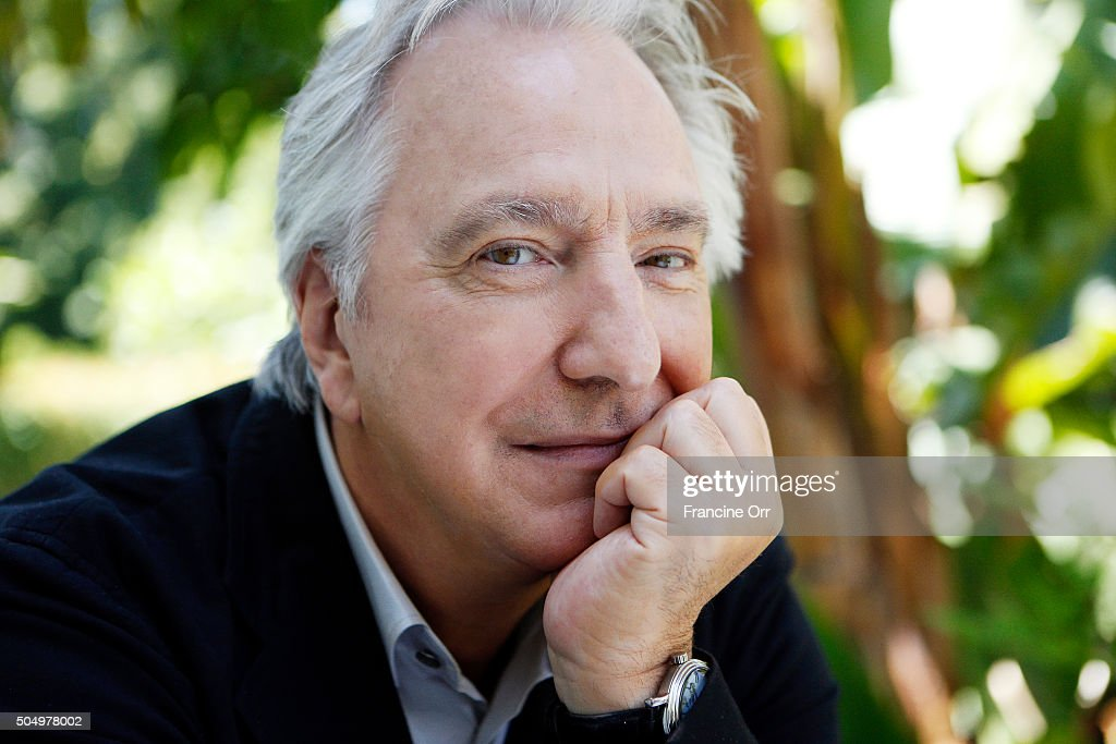 Actor Alan Rickman is photographed for Los Angeles Times on June 22, 2015 in Los Angeles, California. PUBLISHED IMAGE.