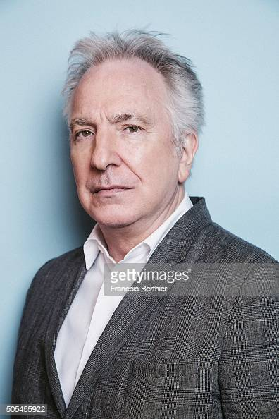 Actor Alan Rickman is photographed for Self Assignment on December 15 2014 in Marrakech Morocco