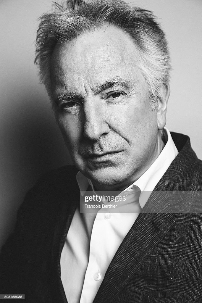 Actor Alan Rickman is photographed for Self Assignment on December 15, 2014 in Marrakech, Morocco.