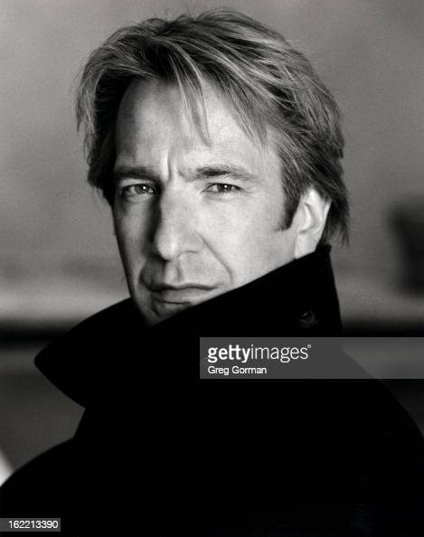Actor Alan Rickman is photographed for Self Assignment on January 1 1991 in Los Angeles California