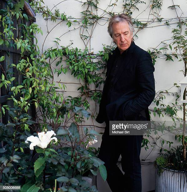 Actor Alan Rickman is photographed on July 12 2006 in London England